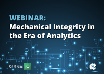 WEBINAR: Mechanical Integrity in the Era of Analytics