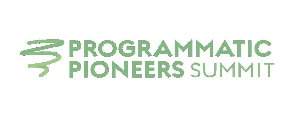 Programmatic Pioneers APAC Virtual Summit
