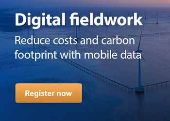 WEBINAR: Digital Fieldwork: Reduce costs - and your carbon footprint - with mobile data