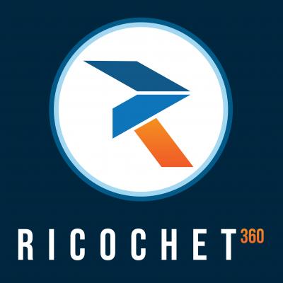Ricochet360 Logo
