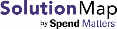 Solution Map by Spend Matters Logo