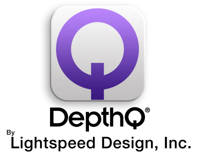 DepthQ by Lightspeed Design, Inc. Logo