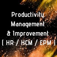Productivity Management & Improvement ( HR / HCM / EPM )