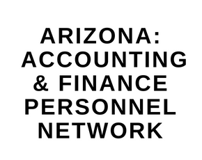 Arizona: Accounting & Finance Personnel Network