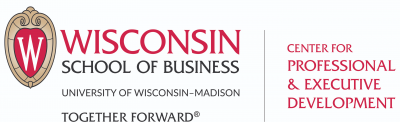 Wisconsin School of Business Center for Professional & Executive Development Logo