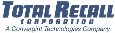 Total Recall Corporation Logo