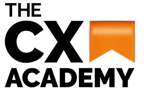 The CX Academy Logo