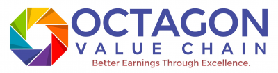 Octagon Value Chain Logo