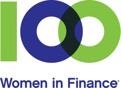 100 Women in Finance Logo