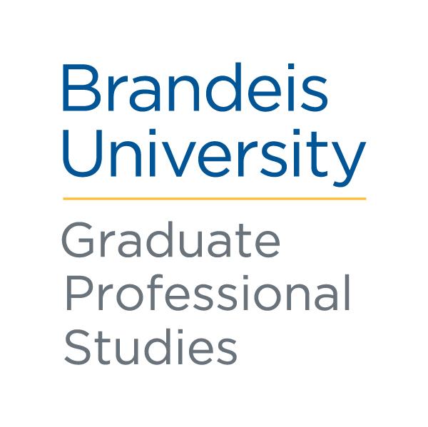Brandeis University - Graduate Professional Studies Logo