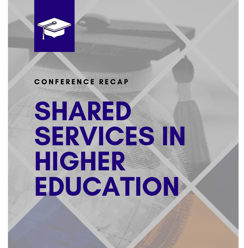 Blog | Shared Services for Higher Education 2020