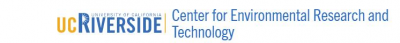 College of Engineering – Center for Environmental Research and Technology (CE-CERT) University of California Logo