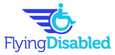 Flying Disabled Logo