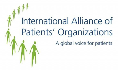 International Alliance of Patients' Organizations (IAPO) Logo