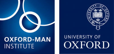 Oxford-Man Institute of Quantitative Finance, University of Oxford Logo