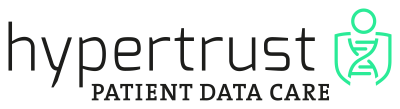 Hypertrust Patient Data Care Logo