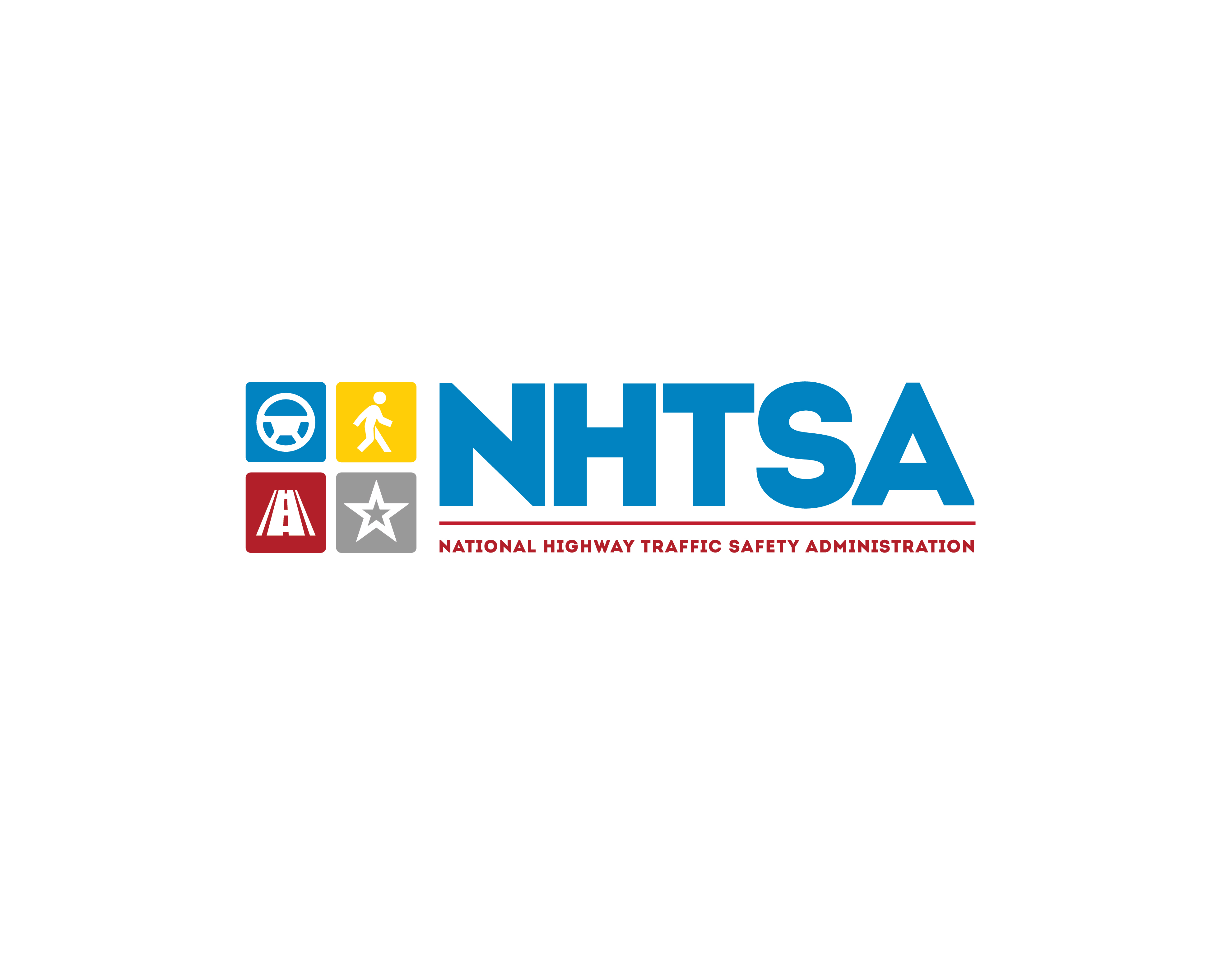 National Highway Traffic Safety Administration (NHTSA), USA Logo