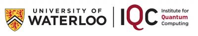 Institute for Quantum Computing, University of Waterloo Logo