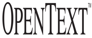 Open Text Logo