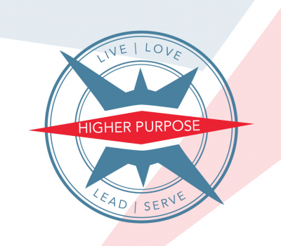The Higher Purpose Podcast Logo
