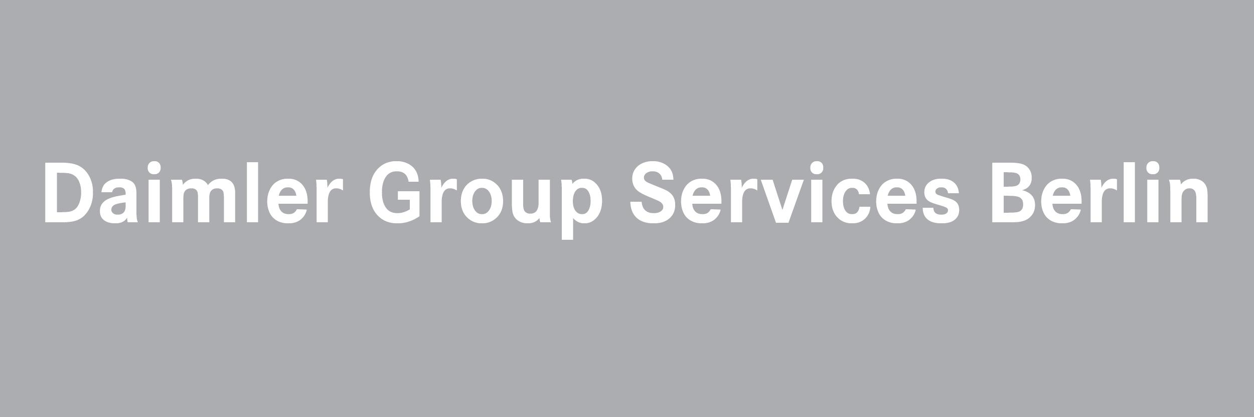 Daimler Group Services Berlin GmbH Logo