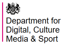 Department for Digital, Culture, Media and Sport (DCMS) Logo