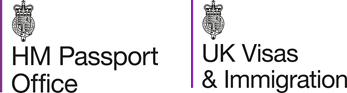 HM Passport Office and UK Visas and Immigration Logo