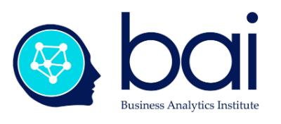 Business Analytics Institute Logo