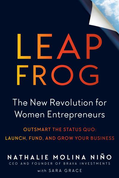 O³, Leapfrog: The New Revolution for Women Entrepreneurs Logo
