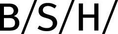 BSH Home Appliances Group 博西家用电器(中国)有限公司 Logo
