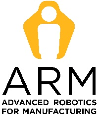 Advanced Robotics for Manufacturing (ARM) Logo