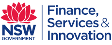 NSW Department of Finance, Services and Innovation Logo