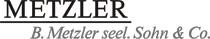 B. Metzler Logo