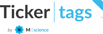 TickerTags by M Science Logo