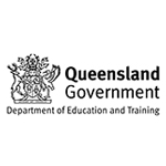 Department of Education and Training, Queensland Logo