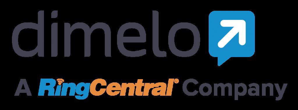 Dimelo, a RingCentral Company Logo