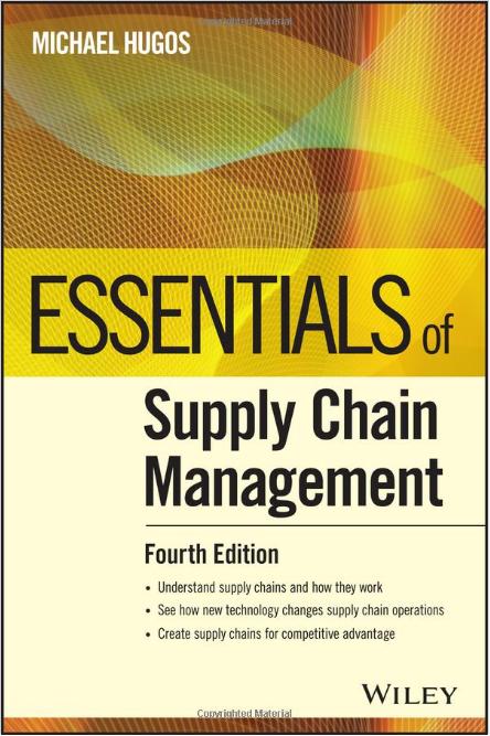 Amazon Best Seller - Essentials of Supply Chain Management Logo