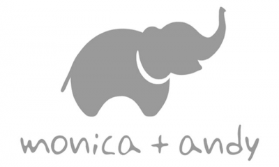 Monica + Andy Logo