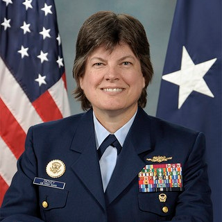 Rear Admiral Laura Dickey