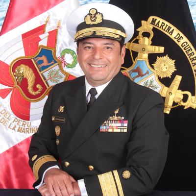 Rear Admiral Federico Javier Bravo de Rueda Delgado