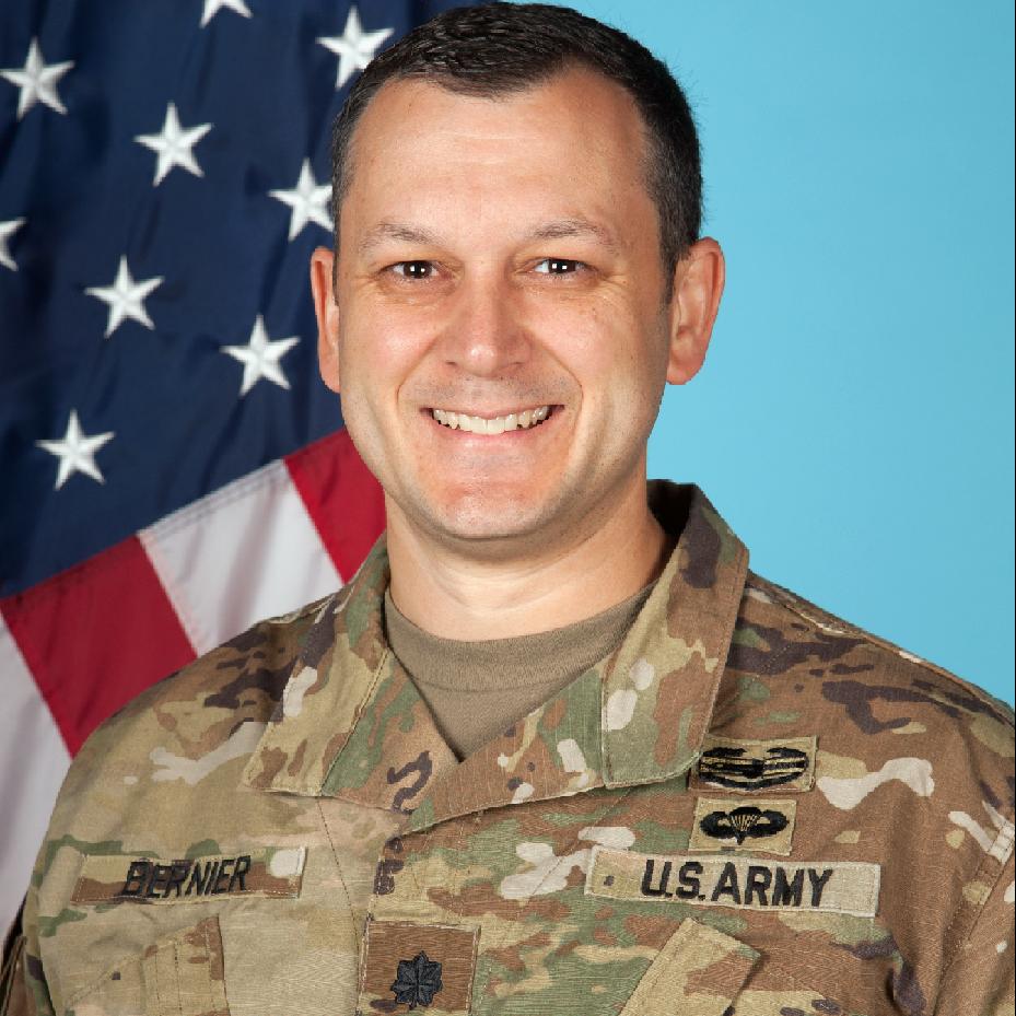 Lt. Colonel Ken Bernier, PM Abrams at PEO GCS, US Army