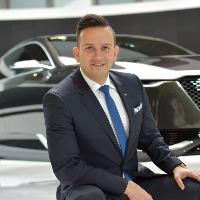 Mahmoud Samara, VP, North America Sales, Service and Marketing at Cadillac