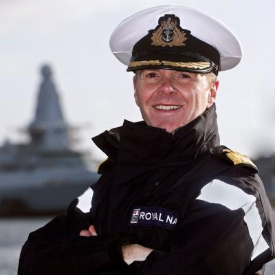 Rear Admiral Jim Higham