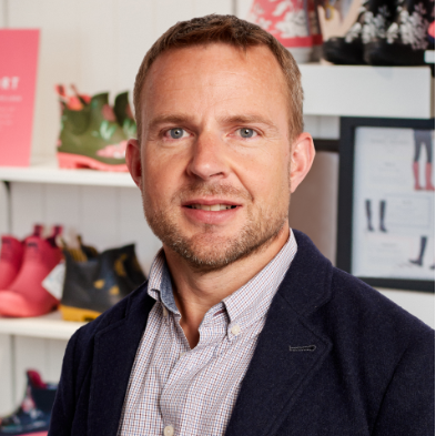 Marc Dench, CFO at Joules
