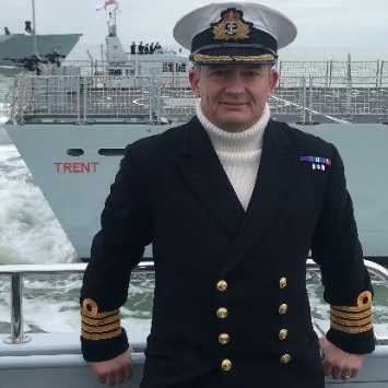 Captain Adrian Fryer