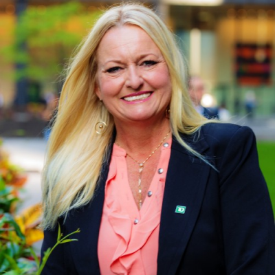 Angie Fearn, Senior Vice President, Head of Talent Acquisition at TD Bank