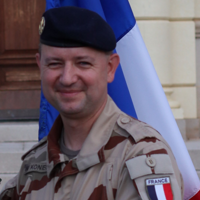 Lieutenant Colonel Nicolas KONIECZNY