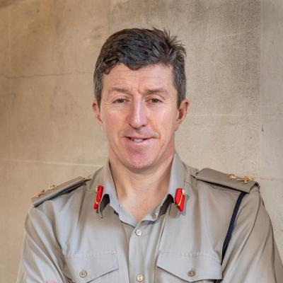 Major-General Gwyn S.G. Jenkins OBE RM