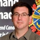 Robert Boettcher, Chief Geomatics Officer at Canadian Forces Warfare Centre