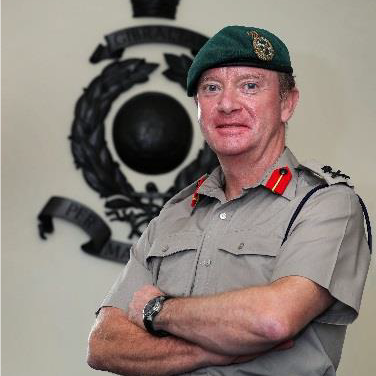 Major General Matt Holmes CBE DSO